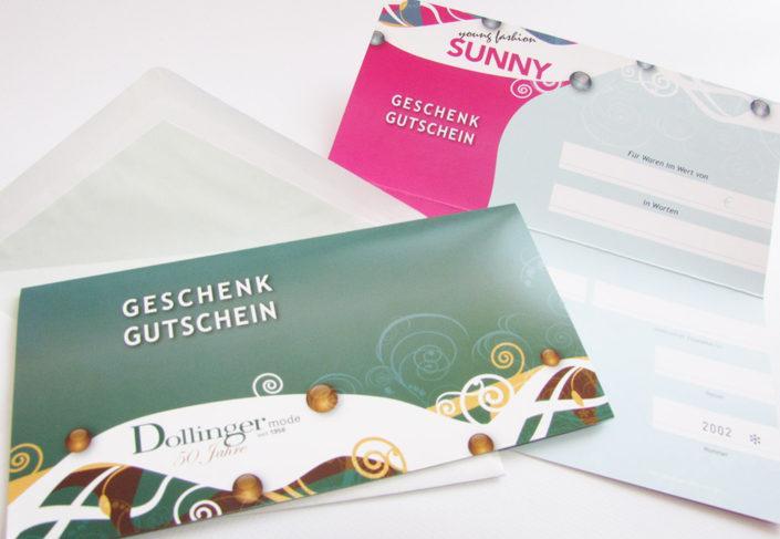 Dollinger Gutschein