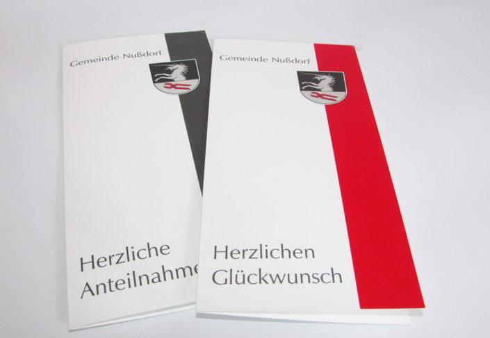 Gemeinde Nußdorf Karten