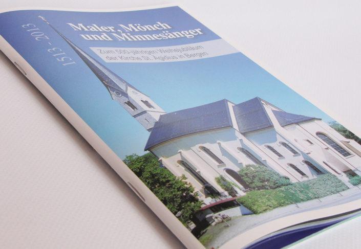 Pfarrei Bergen Broschüre 500-Jahr-Feier, Titel