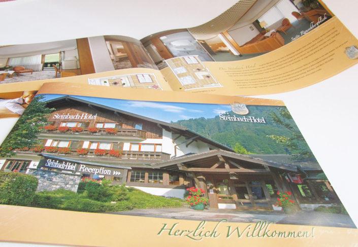 Steinbach Hotel Ruhpolding Hausprospekt aussen