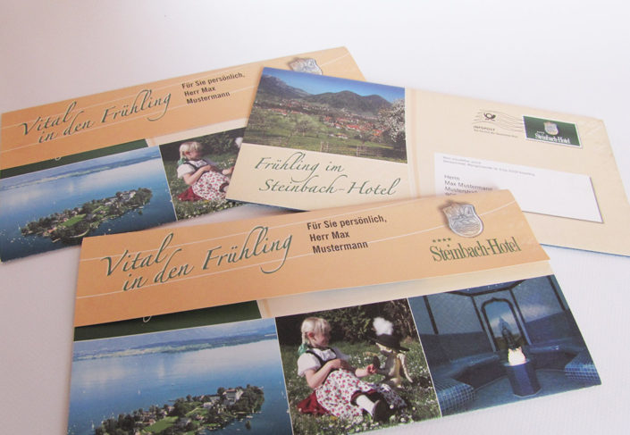 Steinbach Hotel Ruhpolding Mailing