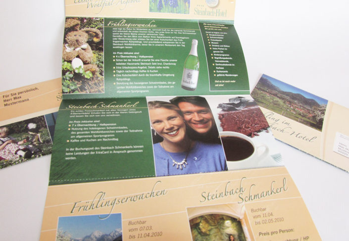 Hotel Steinbach Ruhpolding Selfmailer
