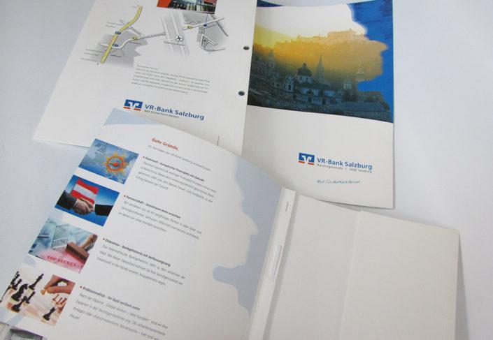 VR Bank Salzburg Präsentationsmappen