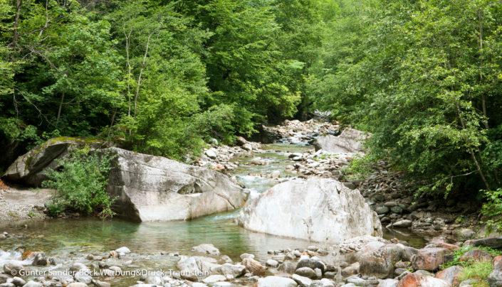 Bavonatal Flussbett