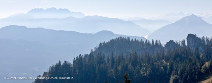 Kampenwand Bergblick
