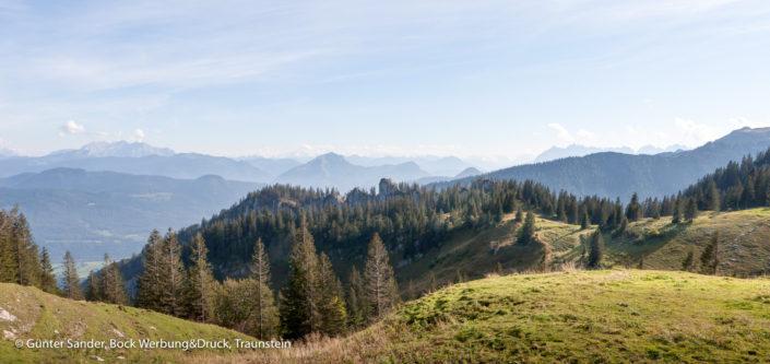 Kapenwand Bergblick