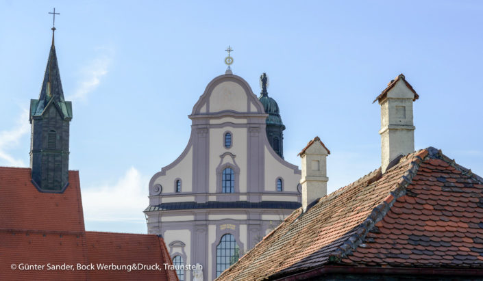 Kirche Dächer
