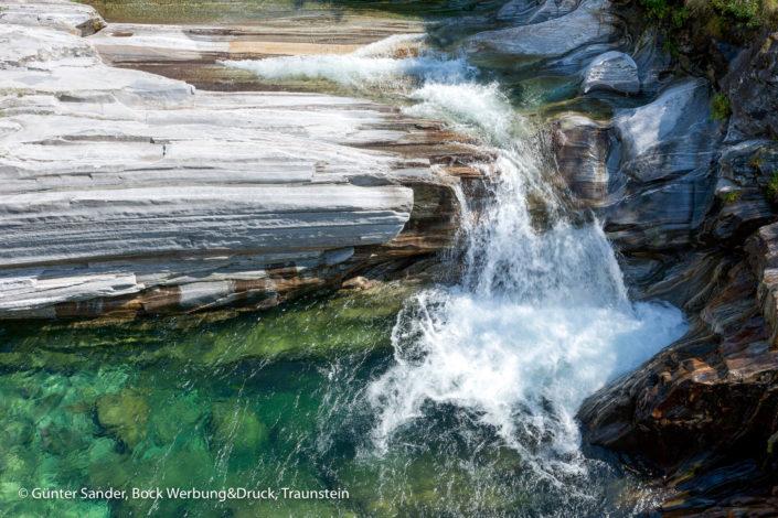 Steine Wasser