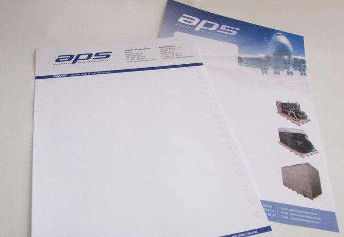 aps Brief und Werbebrief