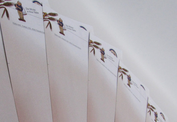 Gfaller Kunstmühle Haslach Briefpapier