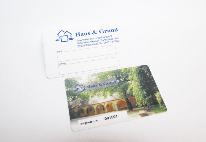 Haus und Grund Mitgliedskarten